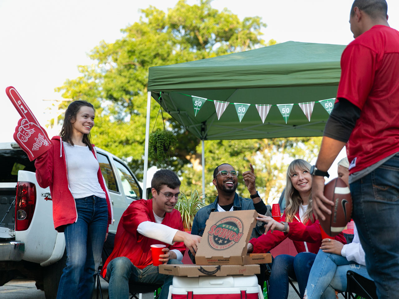 Romeo's Pizza tailgate photoshoot 4