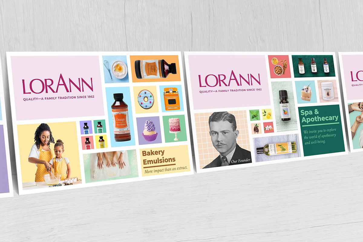 LorAnn Oils print layout
